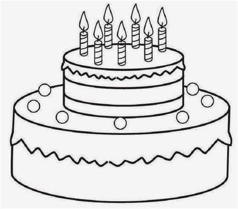birthday cake coloring page free printable free printable birthday cake az coloring pages