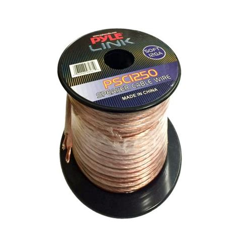 Spool Speaker Voice Coil 37mm pyle psc1250 12 50 ft spool of high quality speaker zip wire