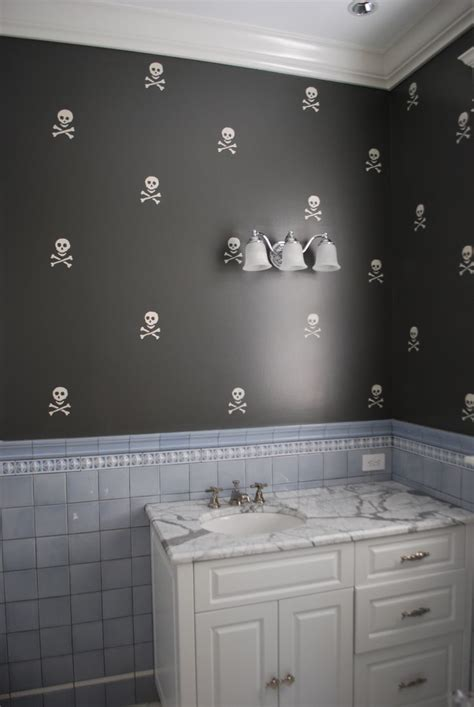 boys bathroom home decor