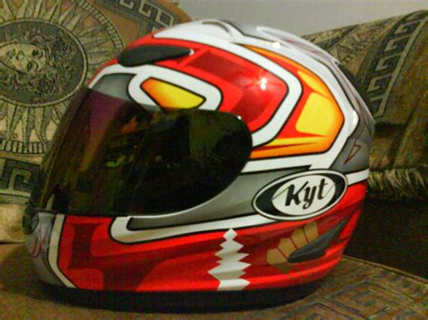 Helm Kyt K2 Rider Motif Kyt Helm