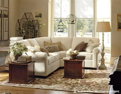 pottery barn living room paint colors louella court pottery barn bringing the outdoors inside