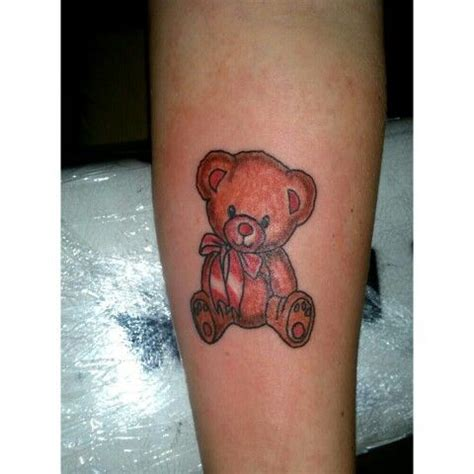 teddy bear tattoo inked pinterest