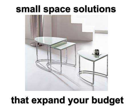 folding expanding tables small space solutions small space solutions that won t break the bank expand