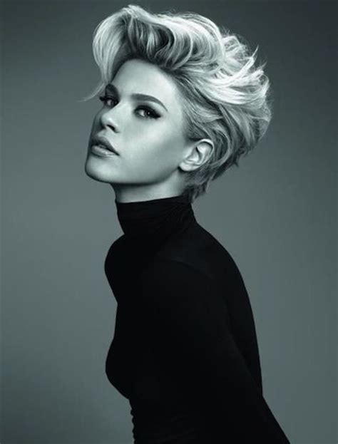 blonde edgy hairstyles short hairstyles for women blonde edgy funky look for