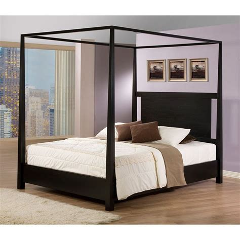 black canopy bed frame 25 best ideas about black canopy beds on pinterest