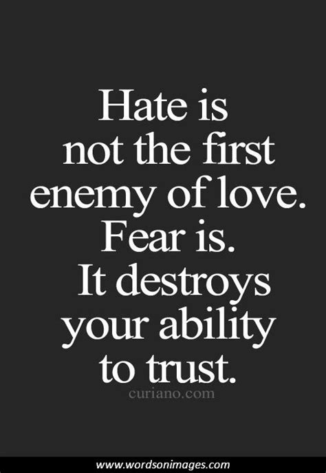images of love phrases fear of love quotes quotesgram
