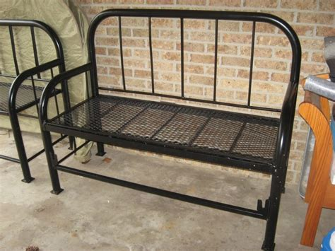 iron bed bench 17 best images about iron bed on pinterest iron bed