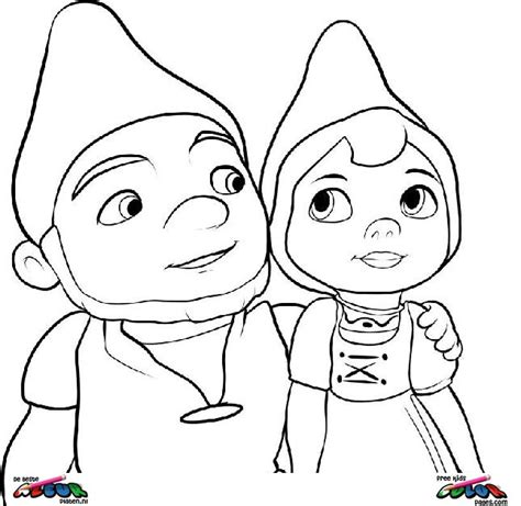gnomeo and juliet005 printable coloring pages