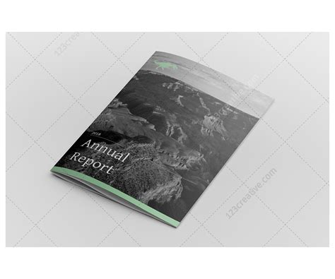 Annual Report Design Indesign Template Professional Company Brochure Template Business Annual Report Layout Design Template
