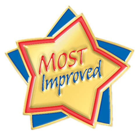 most improved lapel pin positive promotions