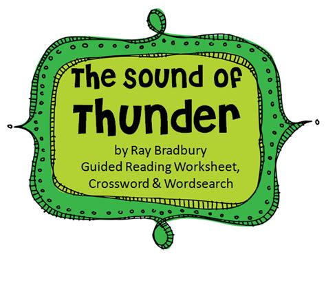 A Sound Of Thunder Essay by Bradbury A Sound Of Thunder Essay