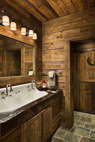 du rustique dans la salle de bain floriane lemarie