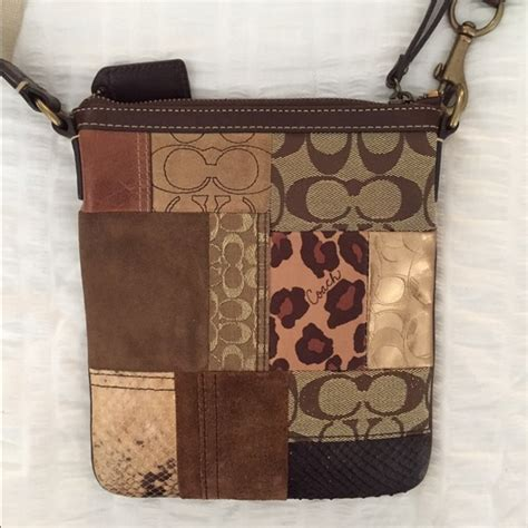 Coach Patchwork - 74 coach handbags coach patchwork crossbody from