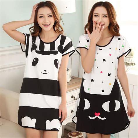 celana pendek pajamas s nightgown summer milk silk sleeve