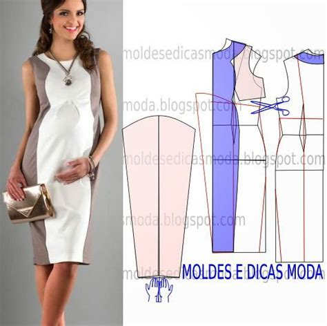 pattern drafting for maternity wear vestido para gr 225 vidas com passo a passo do molde