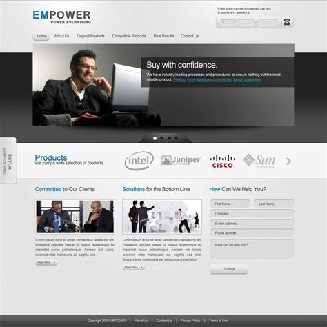 business websites templates 30 high quality psd website templates that will boost your