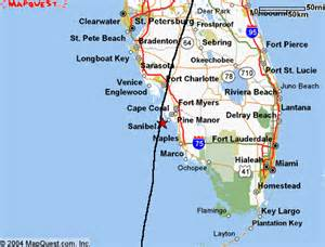 map southern florida matelic image map southern florida