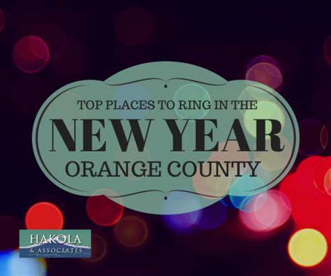 new year in orange county orange county s best new year celebrations