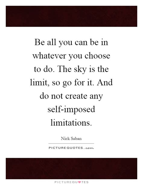 Imposed Limits by Self Imposed Quotes Sayings Self Imposed Picture Quotes