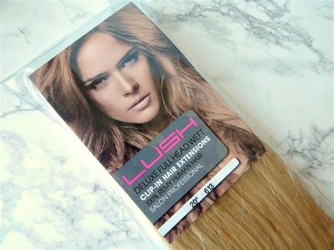 Hair Extensions Giveaway - lush hair extensions review giveaway vanity claire