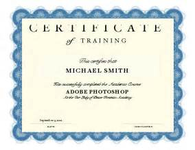 ms office certificate templates completion certificate template