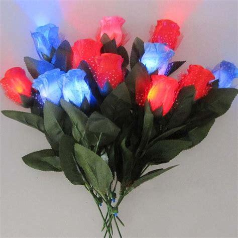 Led Roses Lights Up Mothers Day blinking led light up flower s