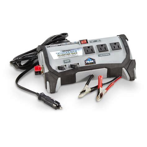 Visero Power Inverter 400 Watt peak 400 watt tailgate power inverter 657969 rv appliances at sportsman s guide