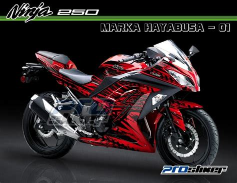 Decal Striping Kawasaki 250 Fi 1 striping 250 fi merah decal stiker modifikasi pictures