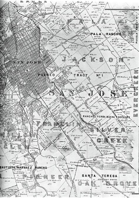 santa clara map 126 best images about northern ca on ibm los