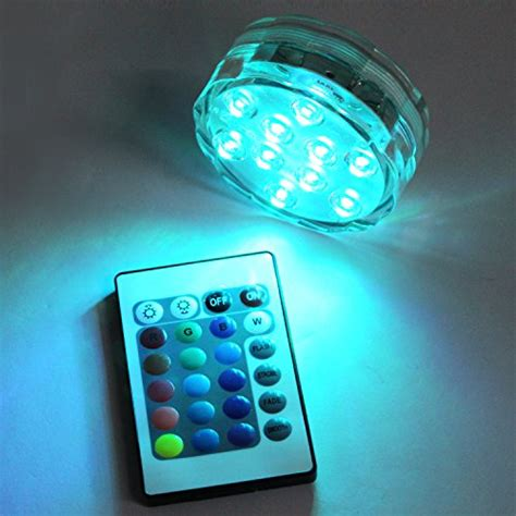 battery powered pool lights semlos submersible swimming pool led lights battery