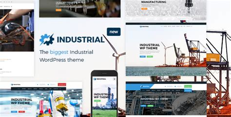 industrial theme industrial factory industry manufacturing wordpress