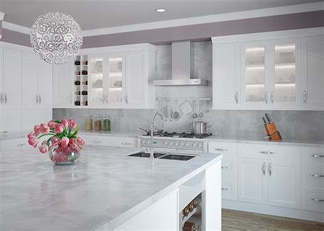 contemporary kitchens with white cabinets white shaker cabinets the trend in kitchen design