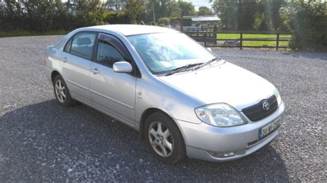 04 Toyota Corolla 04 Toyota Corolla For Sale In Ballymahon Longford From