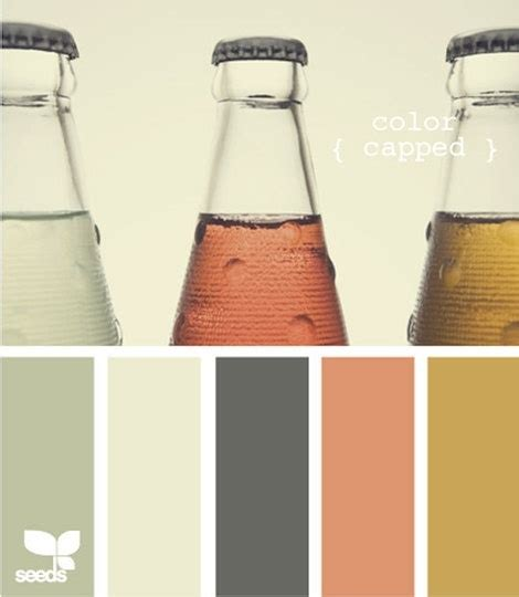 paint color inspiration from design seeds
