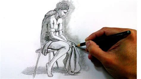 imagenes sad a lapiz c 243 mo dibujar la figura humana dibujo a l 225 piz paso a paso