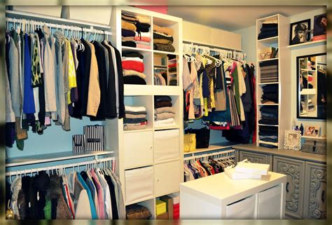 Ikea Expedit Closet by The Master Closet Makeover