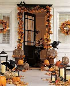 Decorating Ideas Halloween 40 Cool Halloween Front Door Decor Ideas Digsdigs