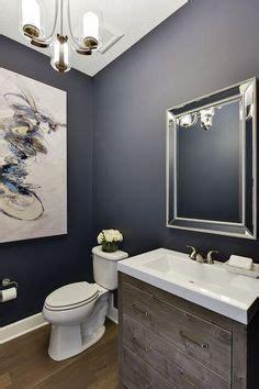 navy blue badezimmer a half bath refresh rund ums haus runde und h 228 uschen