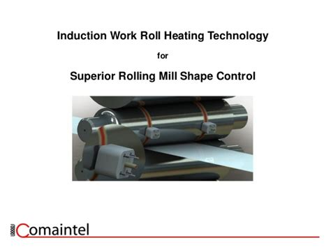 induction heater work induction rolling mill sheet flatness
