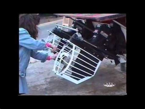 boat propeller cage guard boating prop guard demo youtube