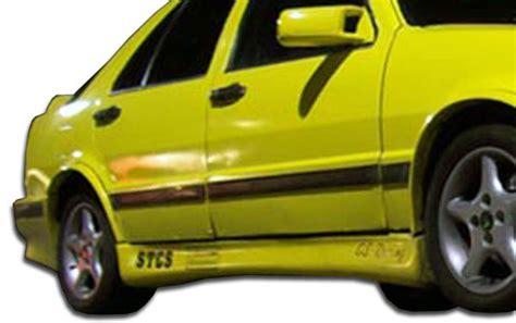 86 91 saab 9000 turbo look overstock side skirts kit