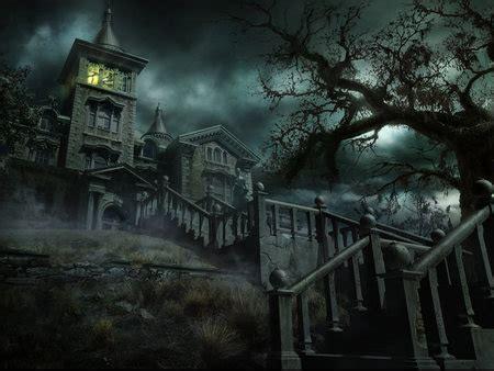 dark  eeerie night fantasy abstract background