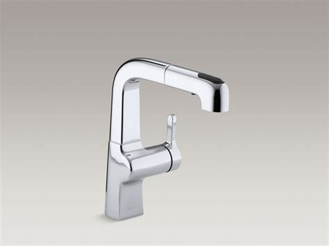 kohler evoke kitchen faucet kohler evoke pullout kitchen faucet