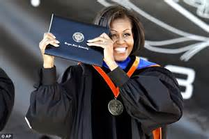 Michelle Obama slams the pursuit of 'fat paychecks and nice offices'  even though she was a