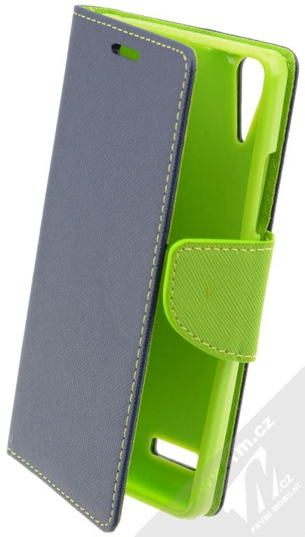 Galaxy X Armband Sportycase For Lenovo A6010 Blue forcell fancy book flipov 233 pouzdro pro lenovo a6000 a6000