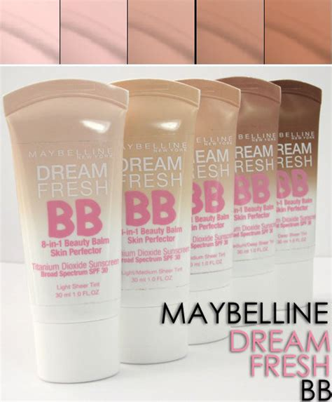 Maybelline Fresh Balm Skin Perfector 8 In 1 maybelline fresh bb brand new sealed select shade from menu ebay