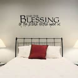 Wall Art Decal Stickers And The Blessings Of The Lord Wall Art Decals