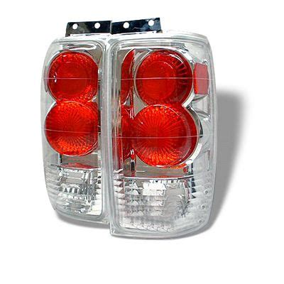2002 ford excursion tail lights ford expedition 1997 2002 clear altezza tail lights