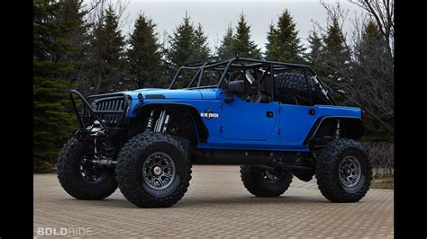 Crush Jeep Jeep Wrangler Blue Crush