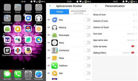 ios launcher for android para valientes imita ios en android con esta aplicaci 243 n